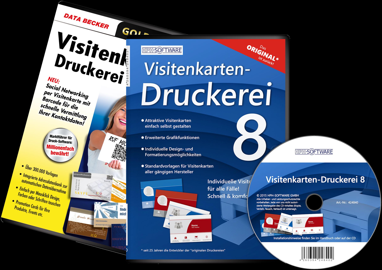 Visitenkarten Druckerei Data Becker It Service Rhein Ruhr