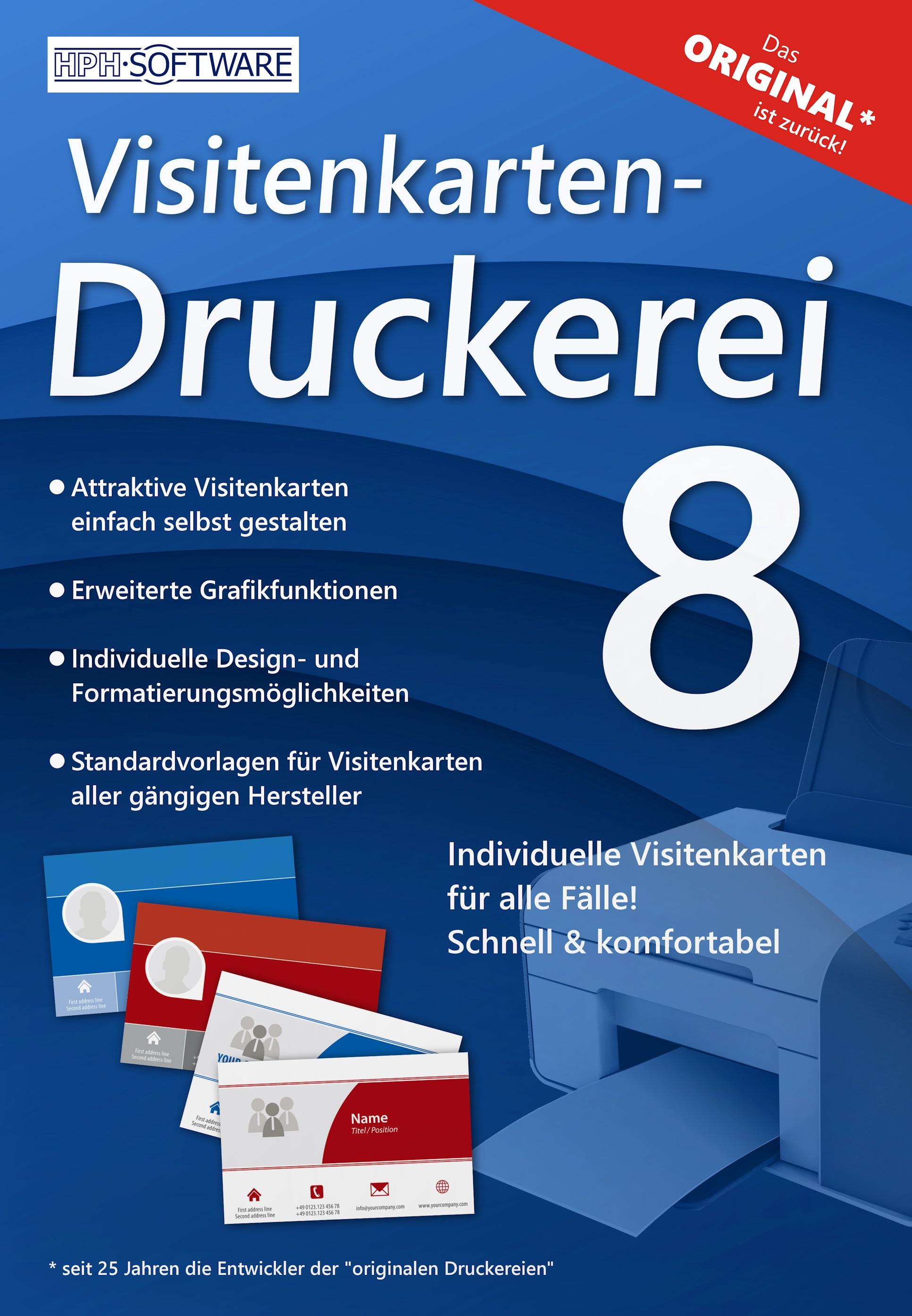 Visitenkarten Druckerei It Service Rhein Ruhr